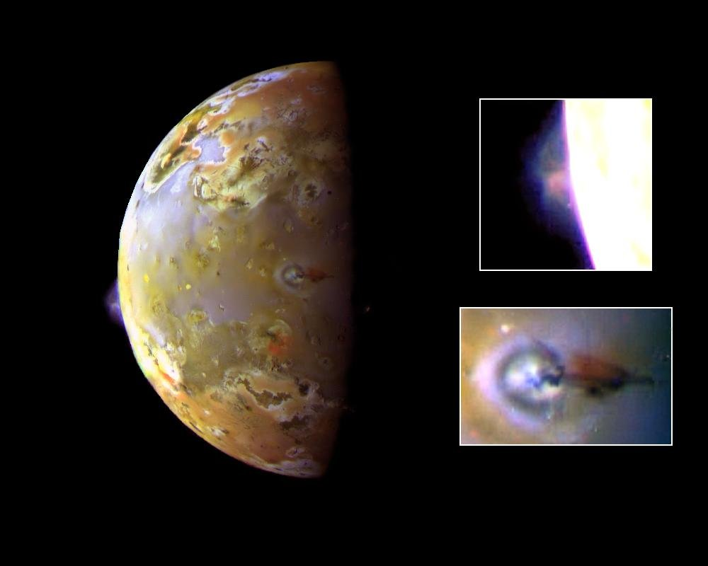Io: The Prometheus Plume