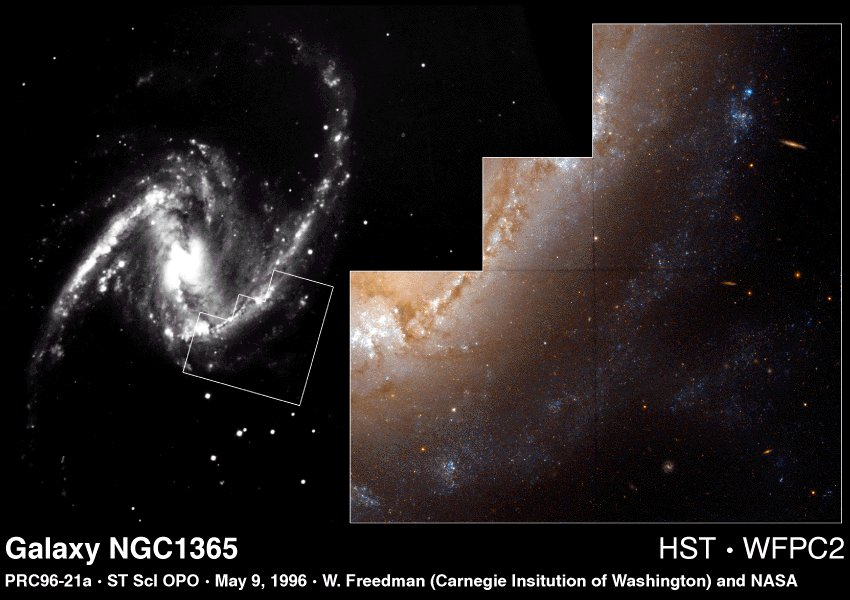 Hubble's Constant and The Expanding Universe (I)