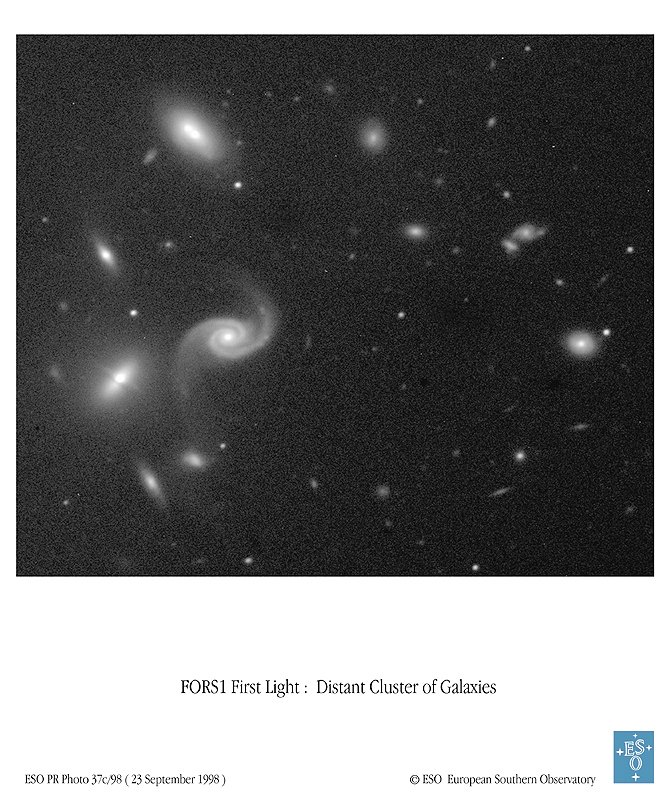 A Peculiar Cluster of Galaxies