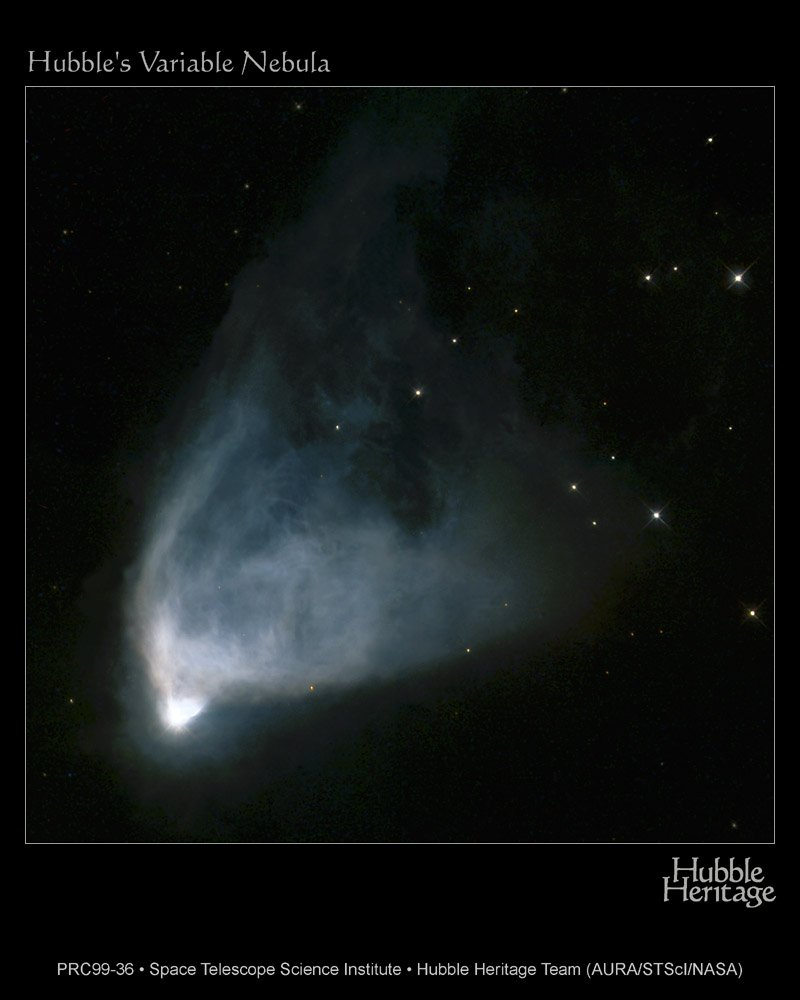 NGC 2261: Hubble's Variable Nebula