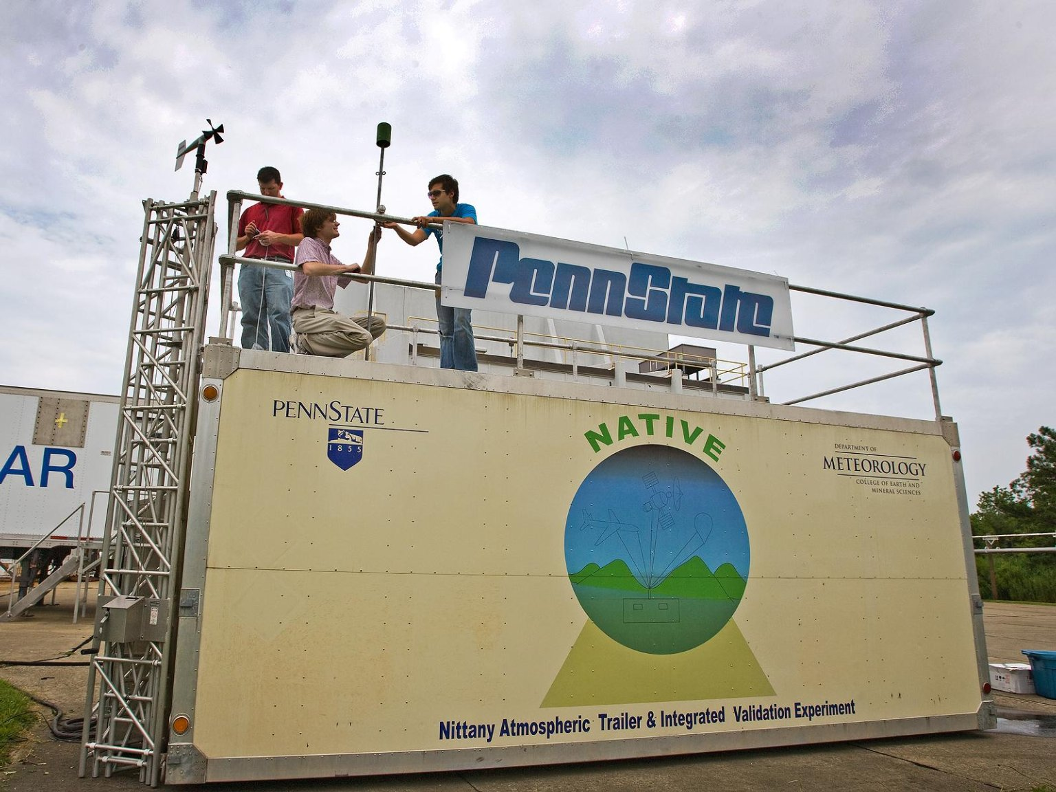 Penn State's NATIVE Mobile Research Facility