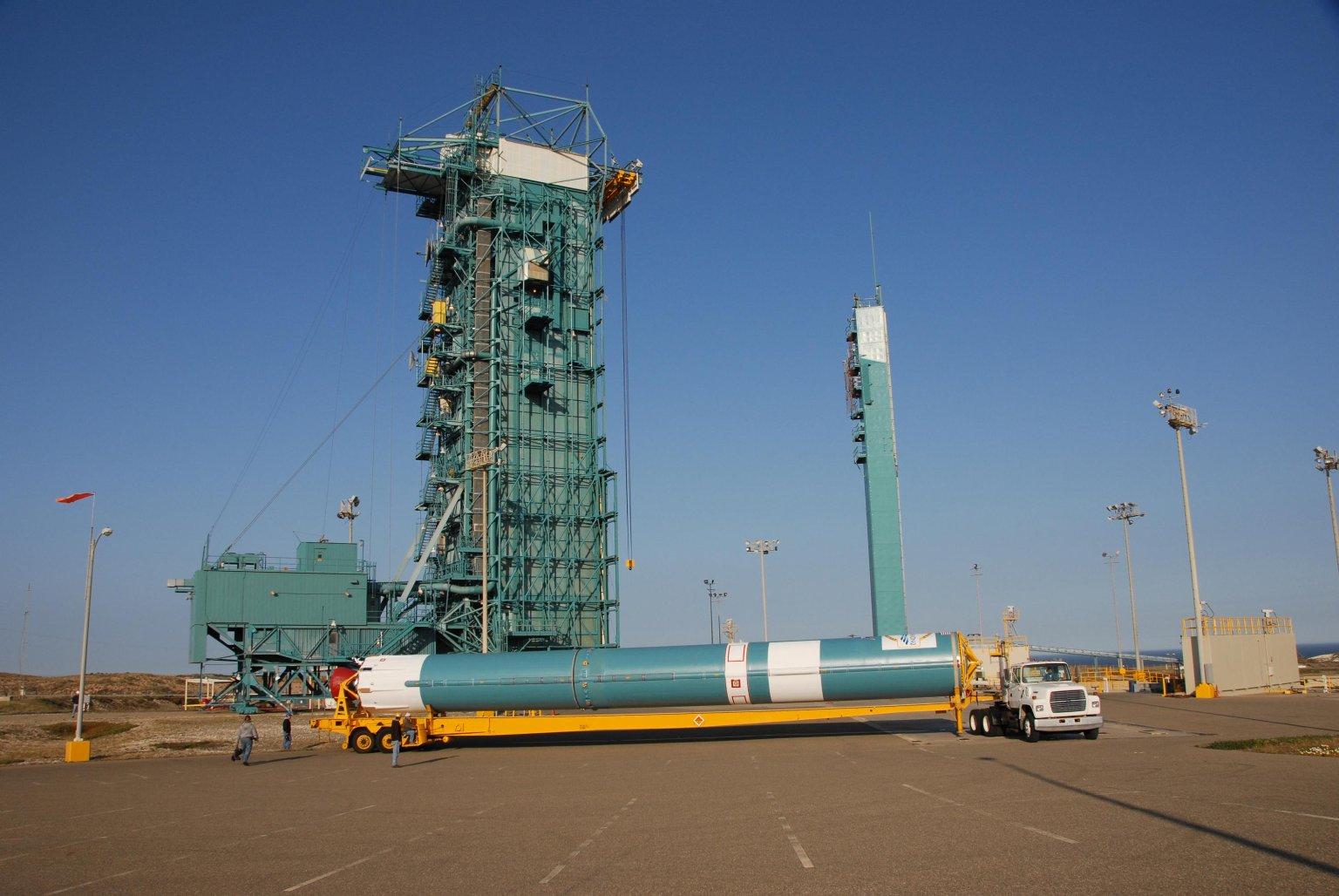 Delta Reaches Launch Pad