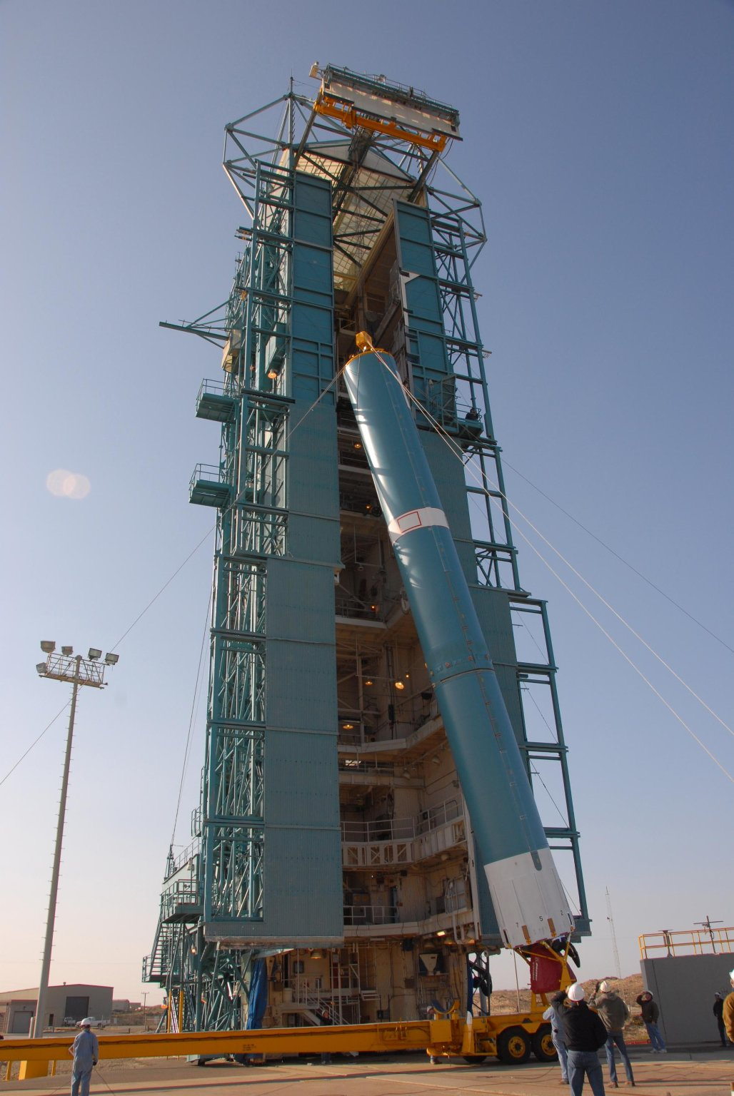 Delta Lifted Onto Pad