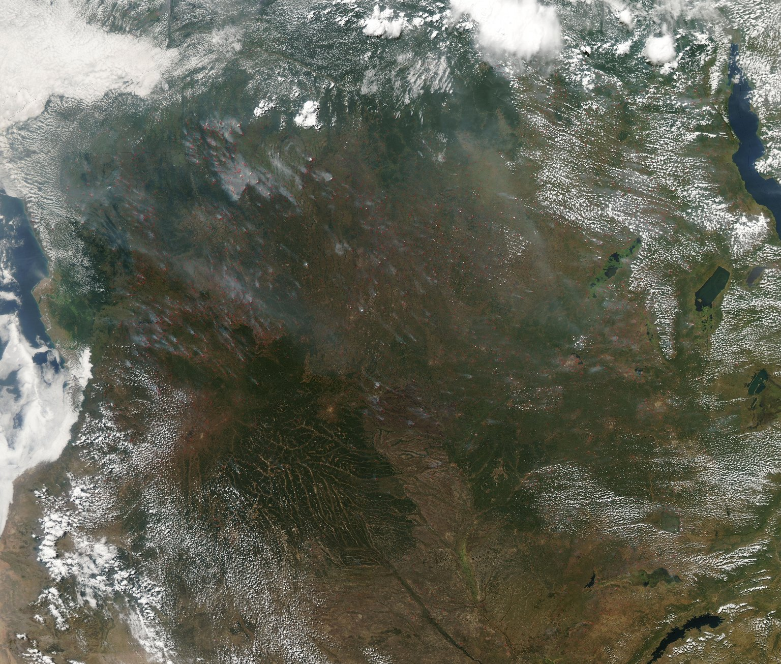 Central Africa Fires