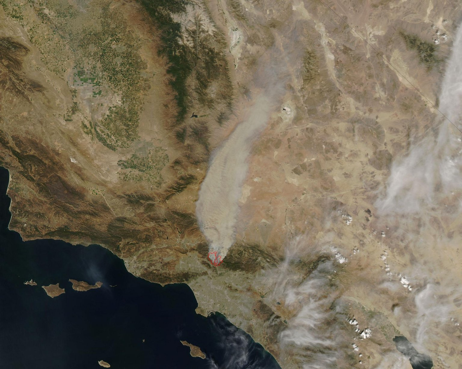 Fires in Los Angeles County 2