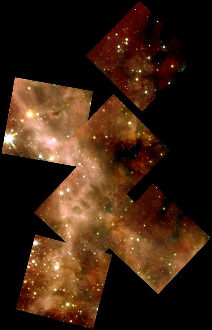 """Hubble Captures a Grand View of the Birth of """"Hefty"""" Stars"""