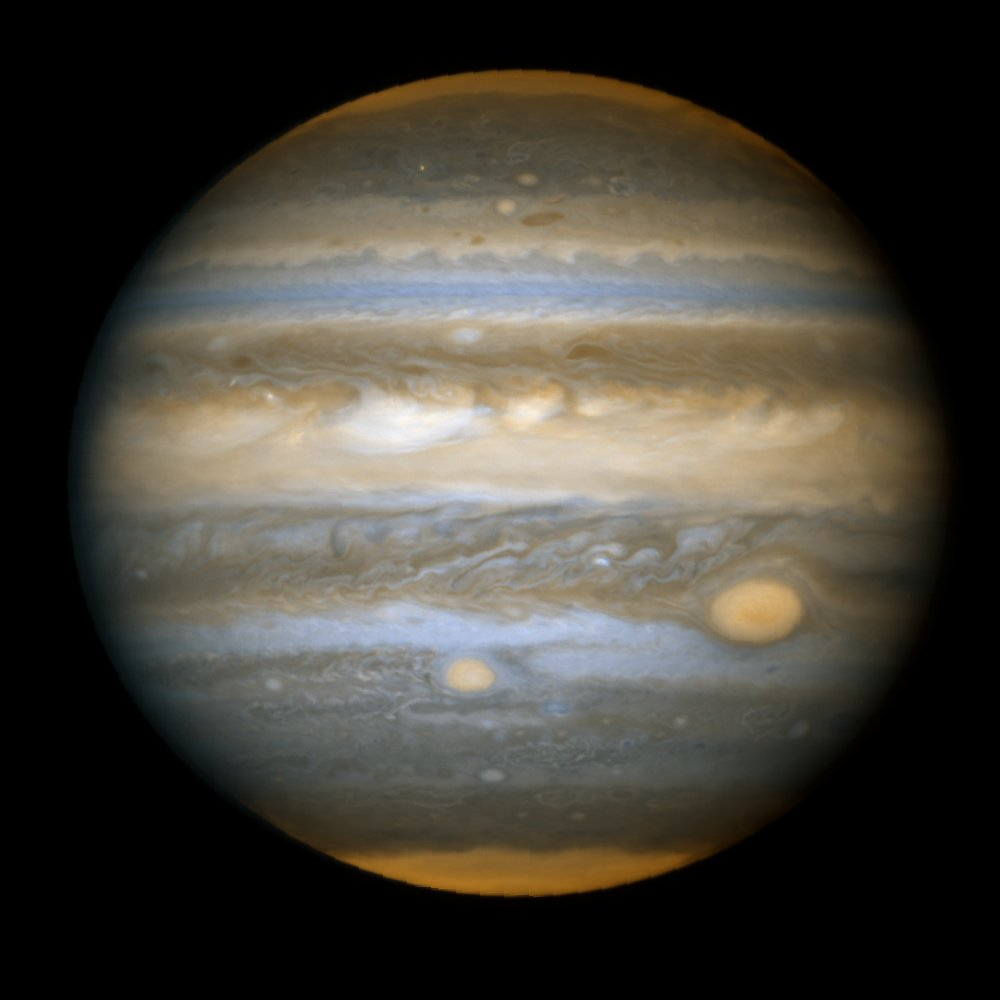 """Hubble Snaps Baby Pictures of Jupiter's """"Red Spot Jr."""