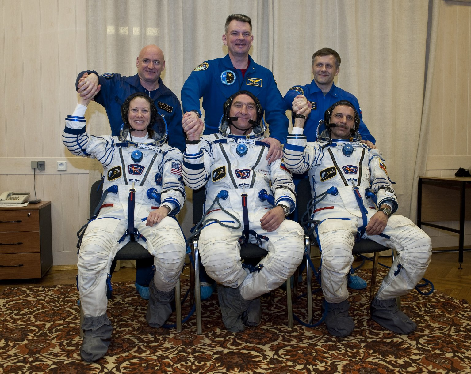Expedition 23 Launch Day