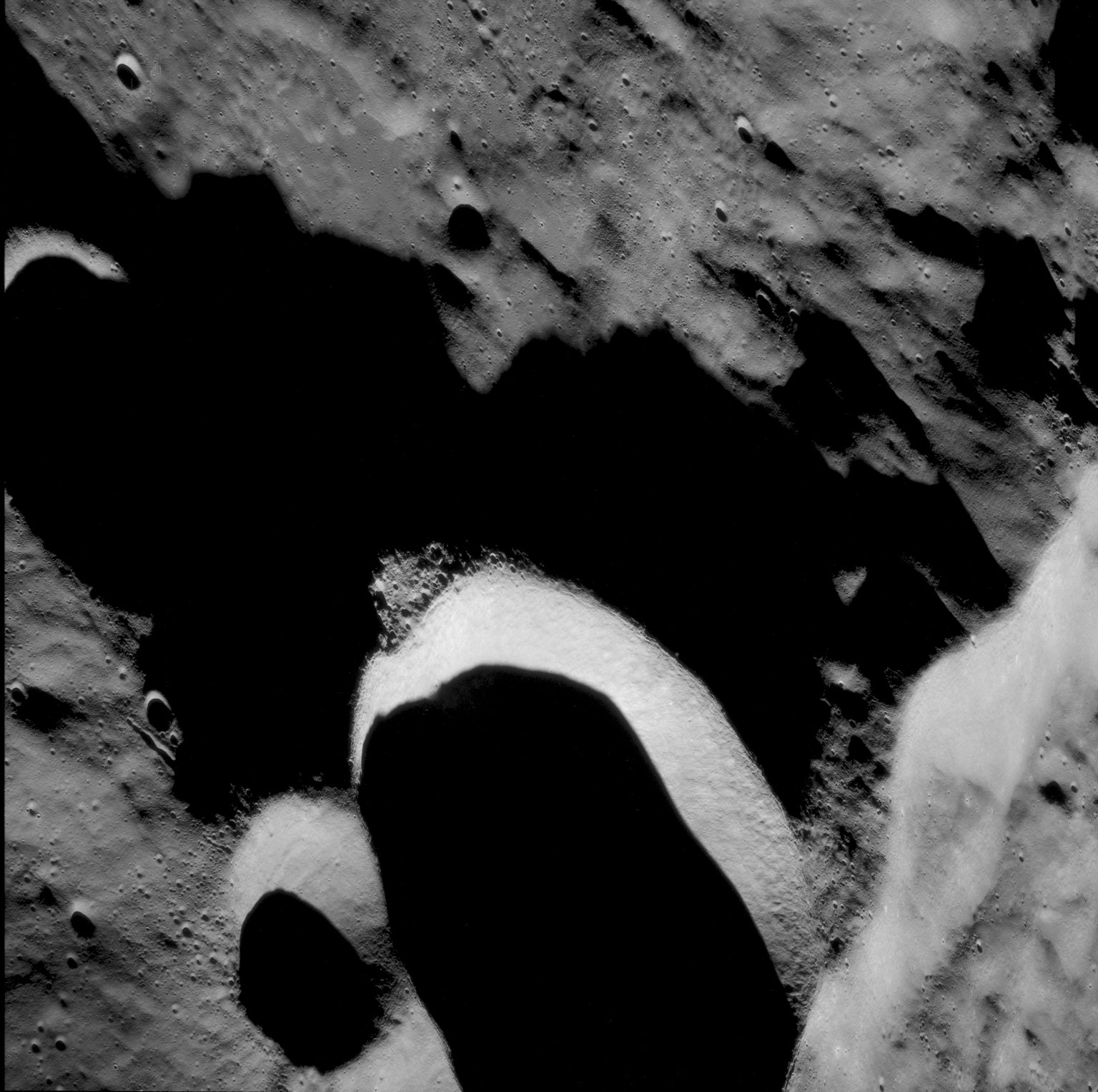 Apollo 11 Mission image - North of Crater 308