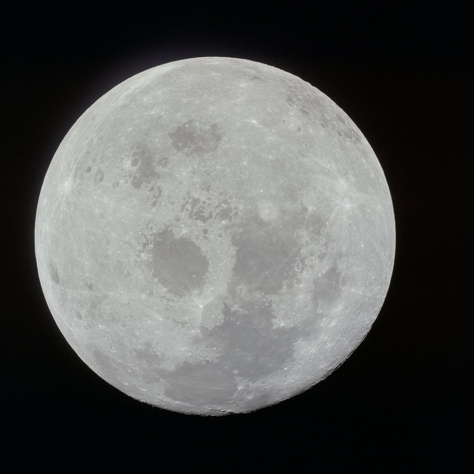 Apollo 11 Mission image - View of Moon