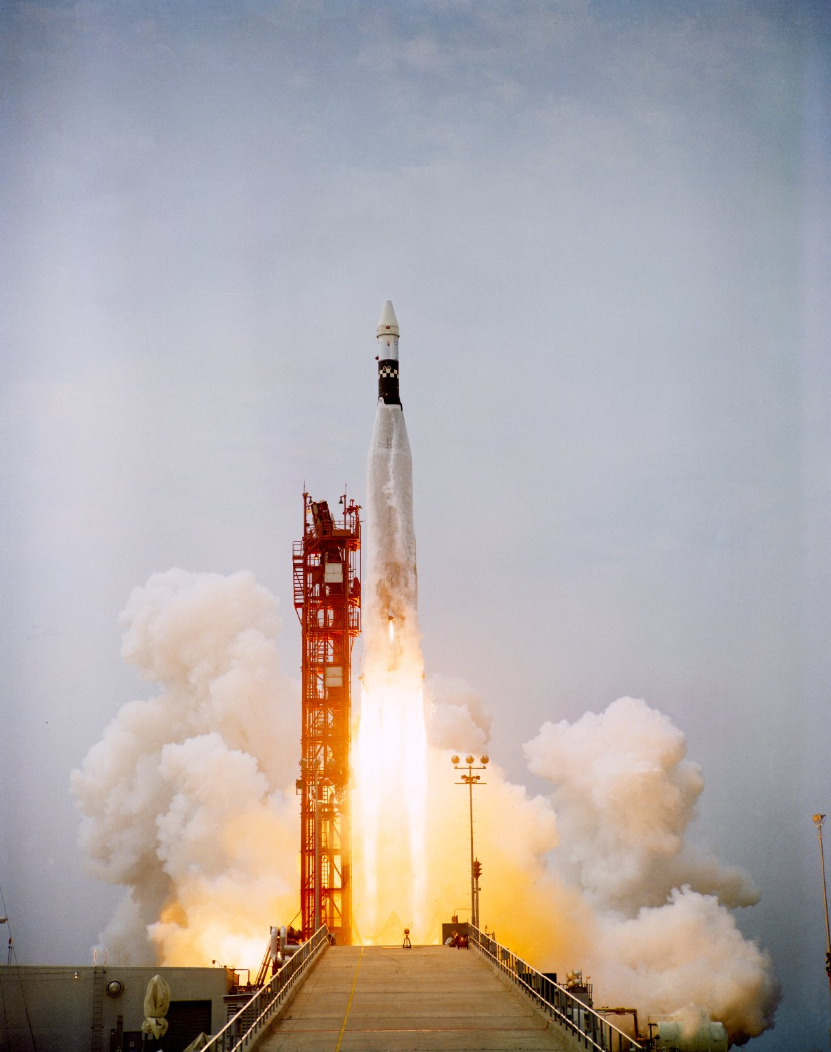 ATDA atop Atlas launch vehicle launched from Kennedy Space Center