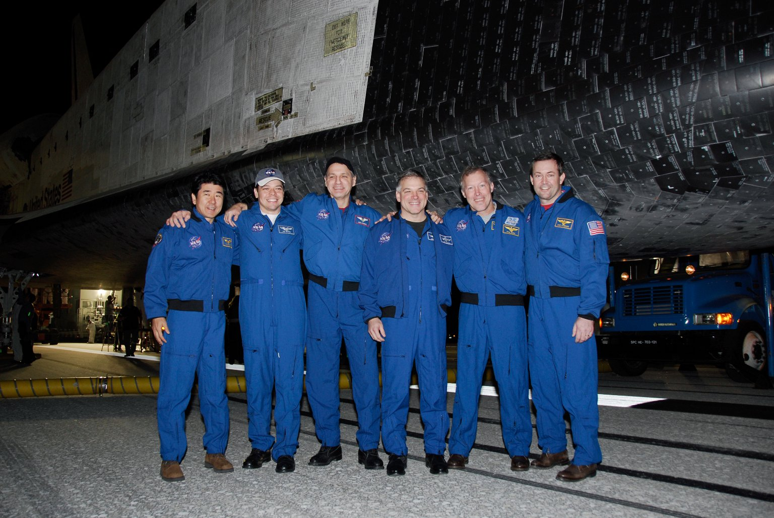 STS-123 landing view
