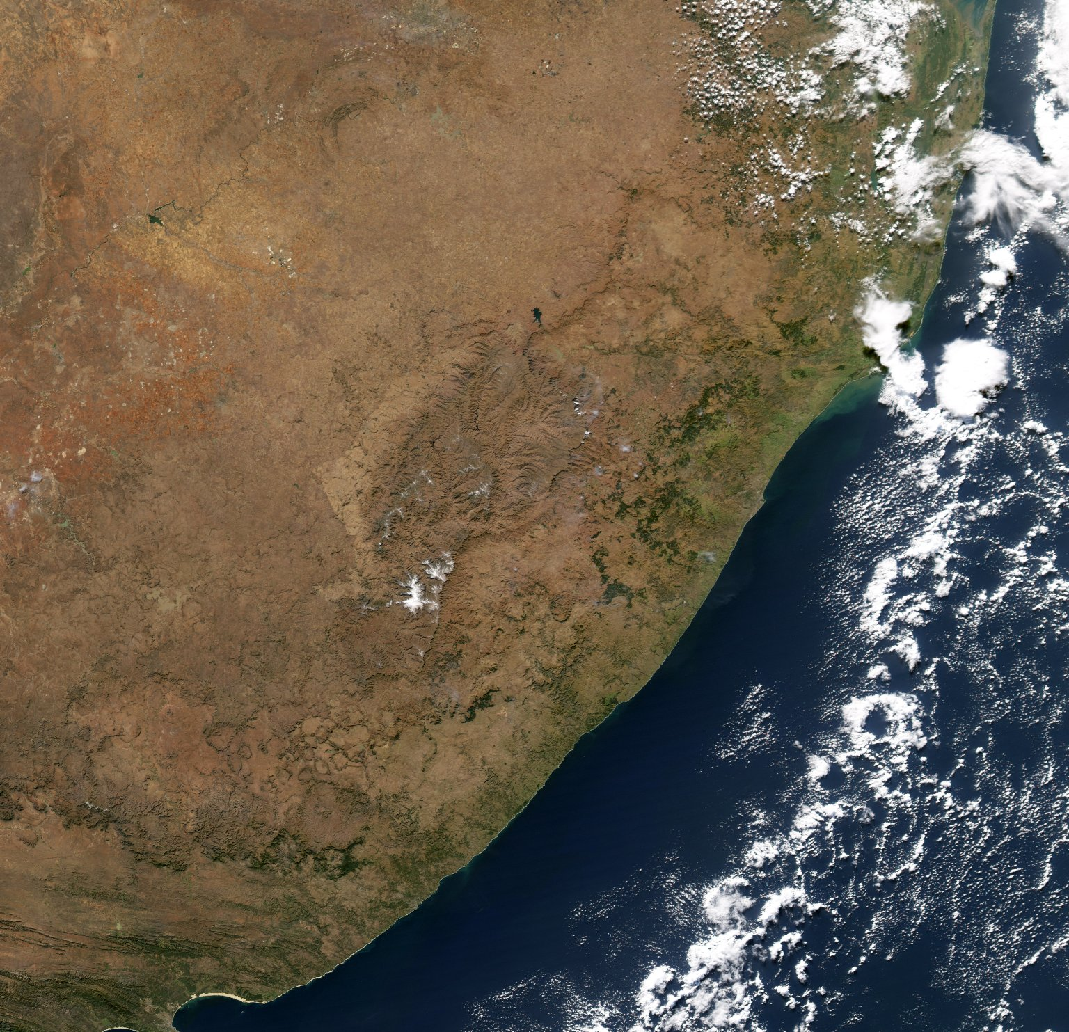 Snow in Southern Africa