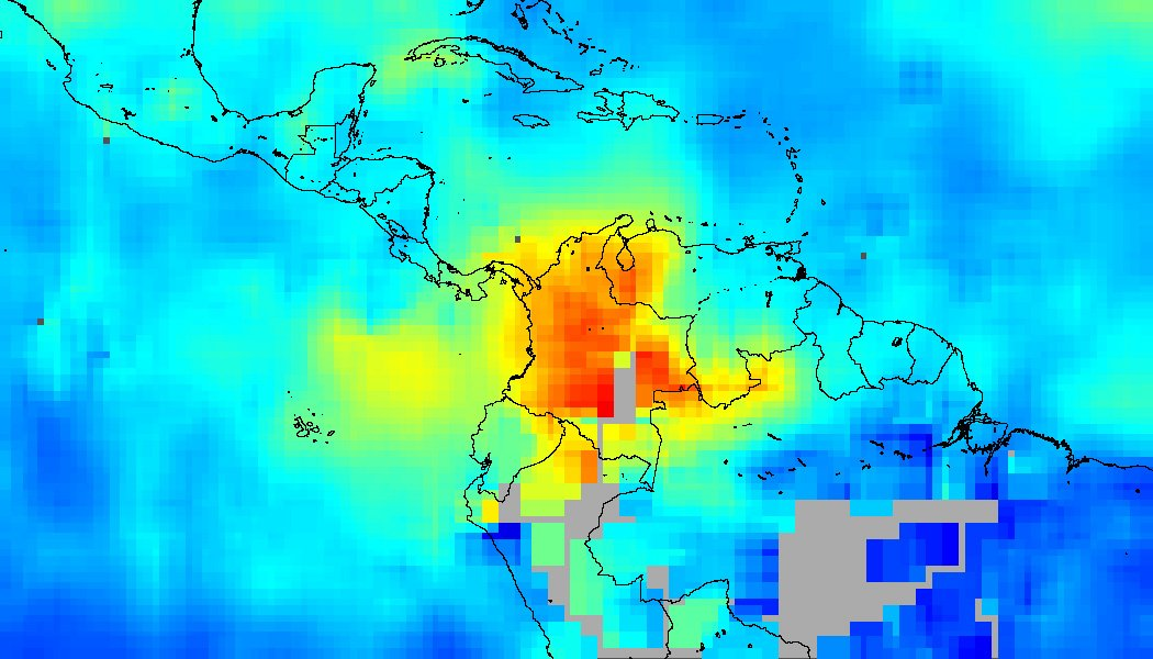 Fires Across Northern South America