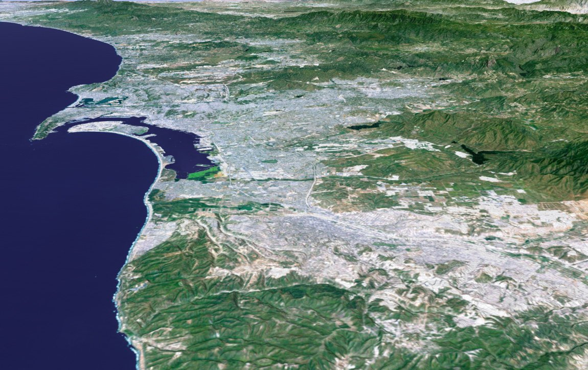 Perspective View: San Diego, California