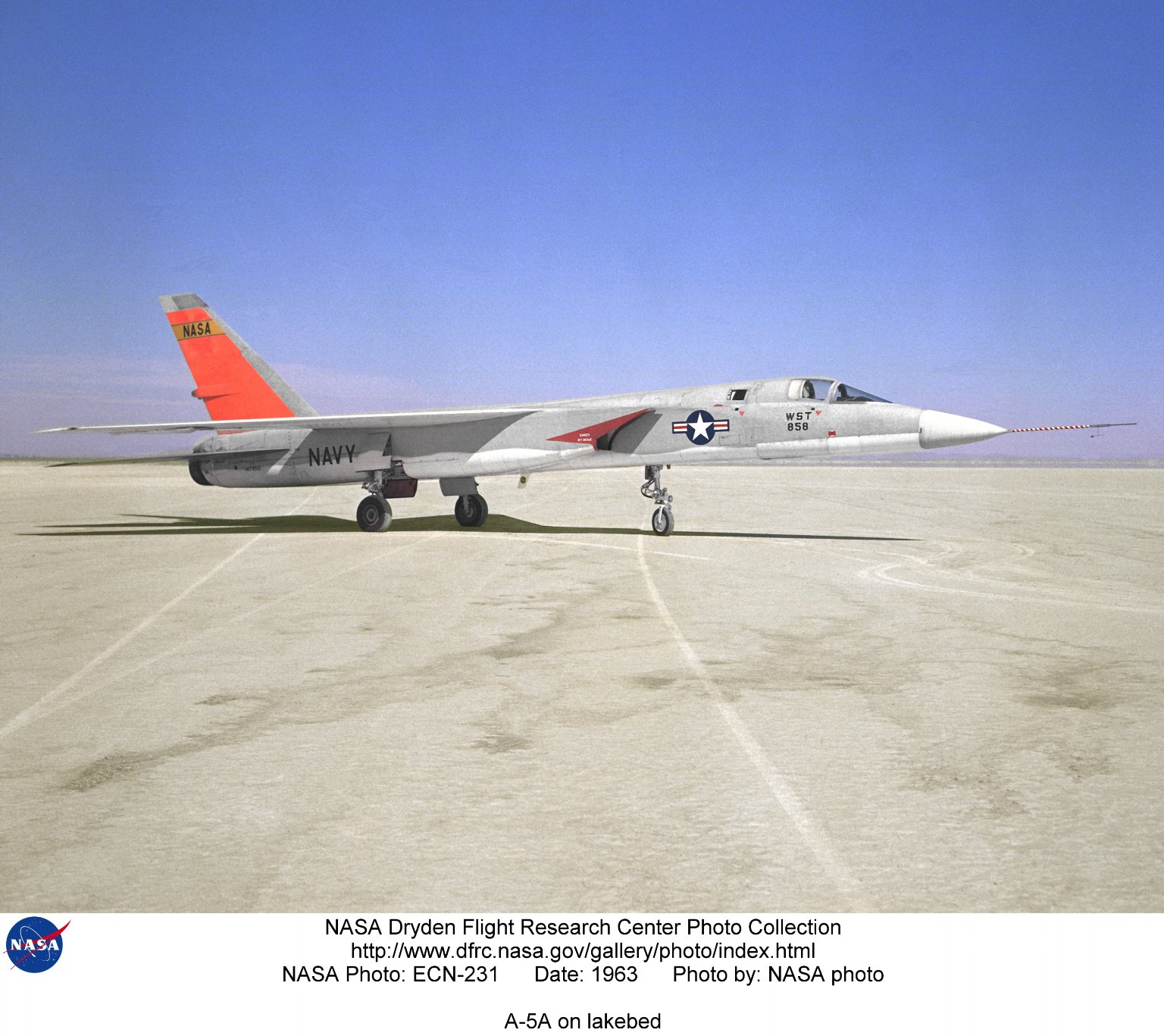 A-5A on lakebed