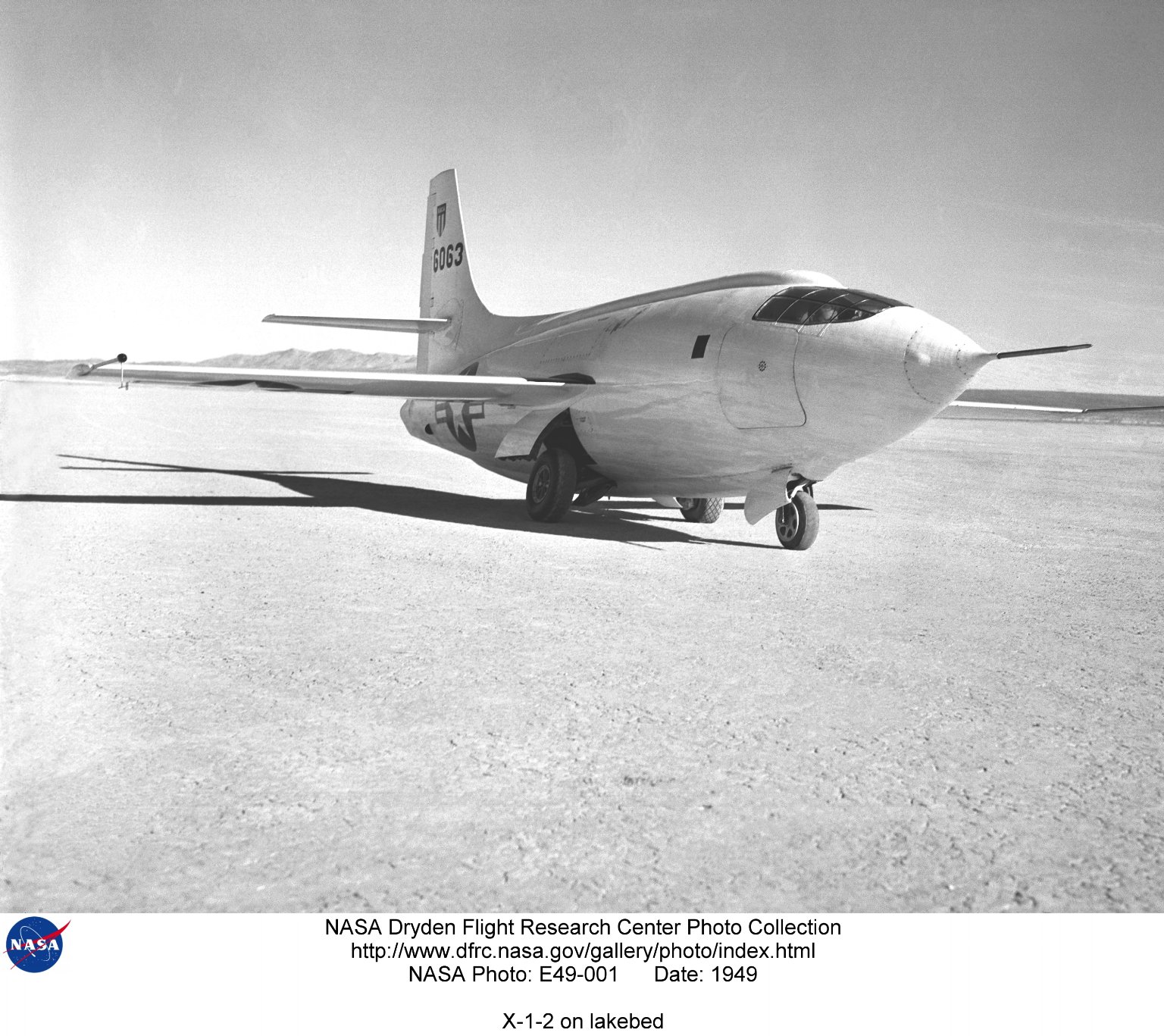 X-1-2 on lakebed