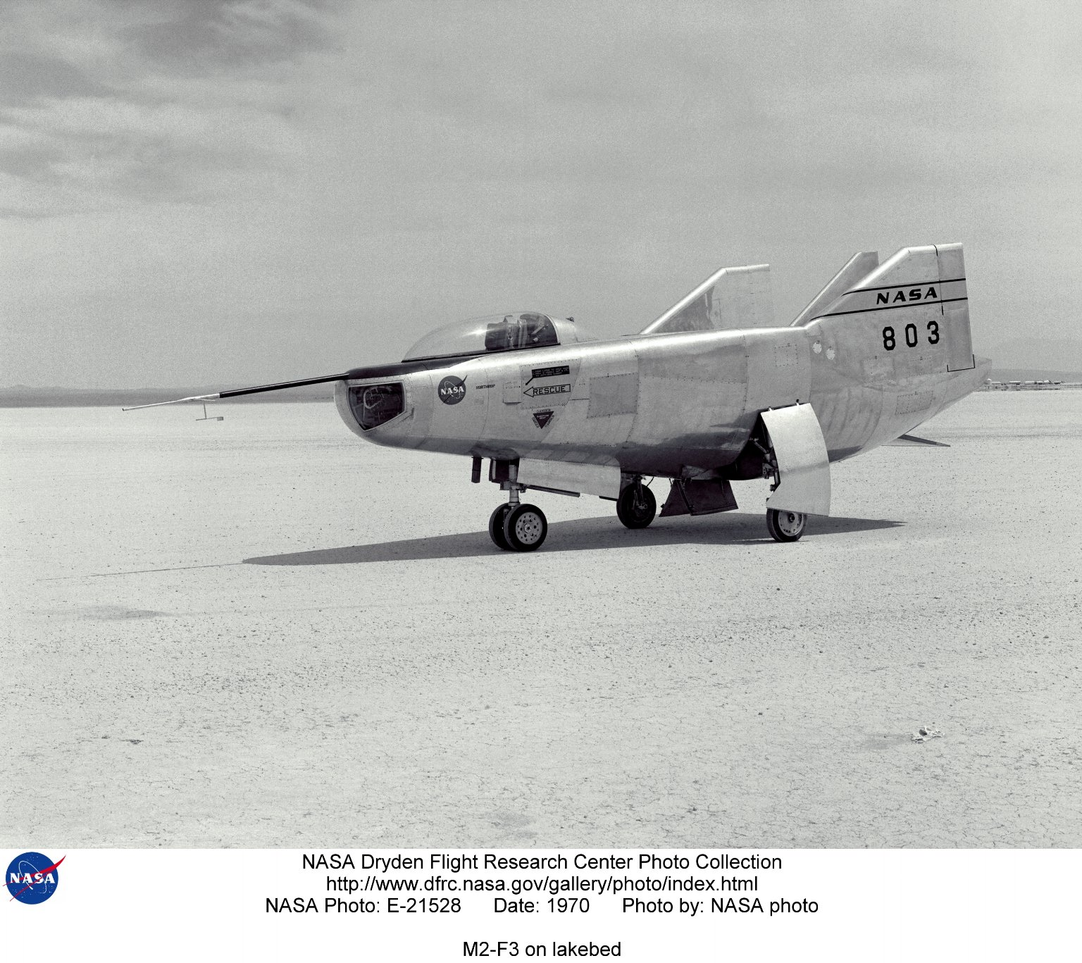 M2-F3 on lakebed