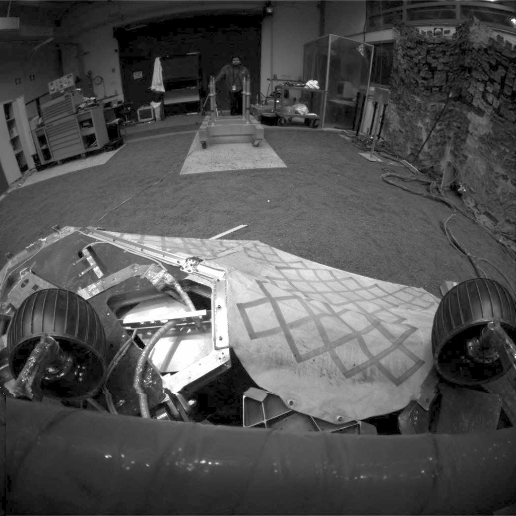 95-degree Position at JPL Testbed