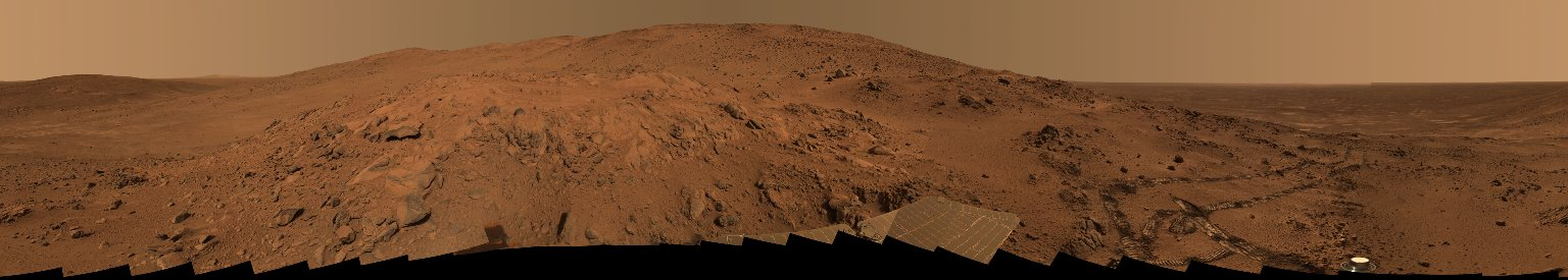 Mars Rover Panorama Shows Vista From 'Lookout' Point