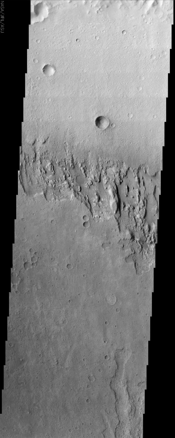 Mars Surface Layers in Infrared