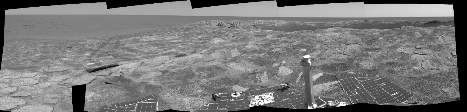 Near 'Endurance' on Sol 115