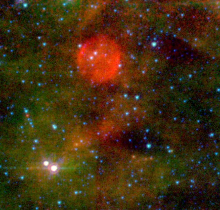 The (Almost) Invisible Aftermath of a Massive Star's Death