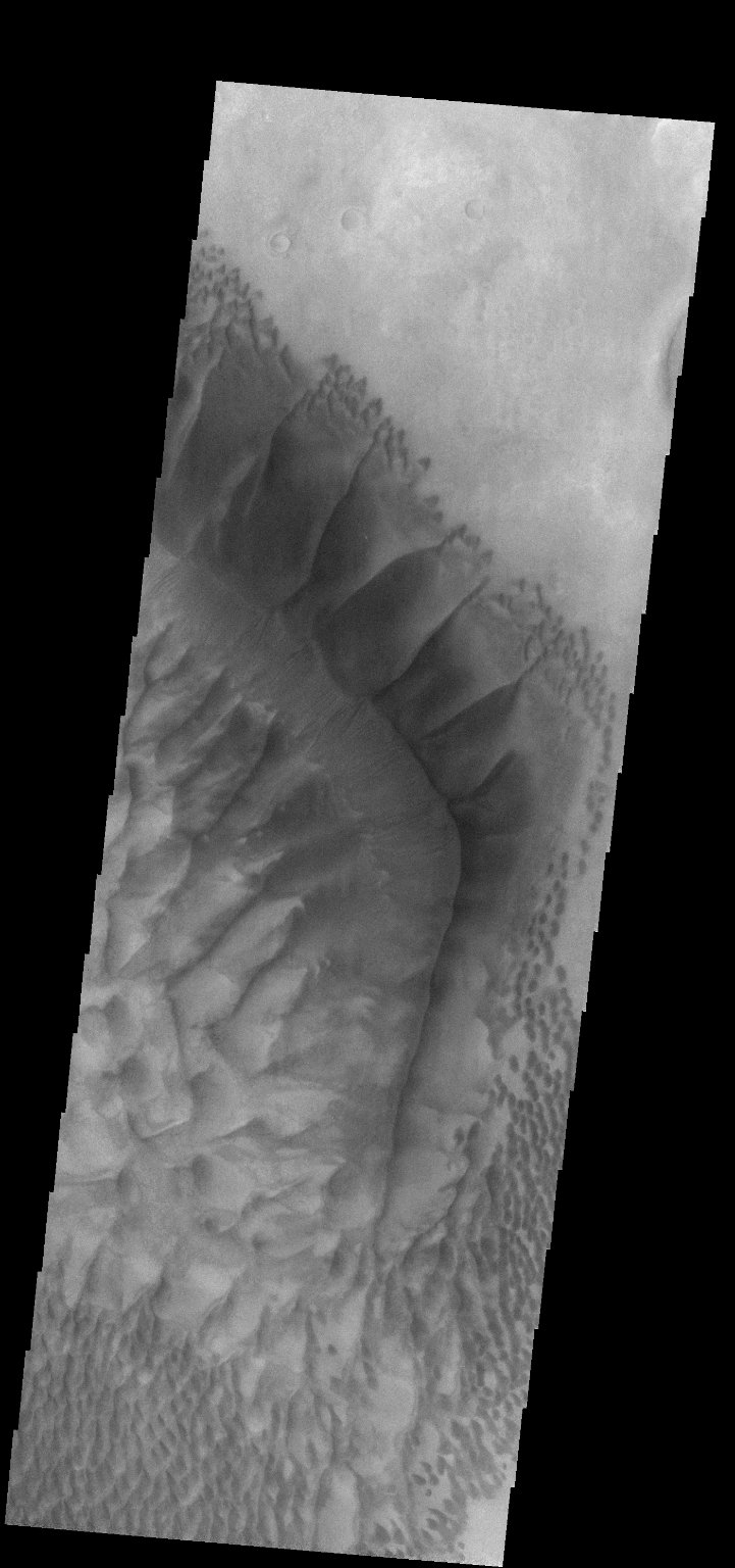 Russell Crater - VIS