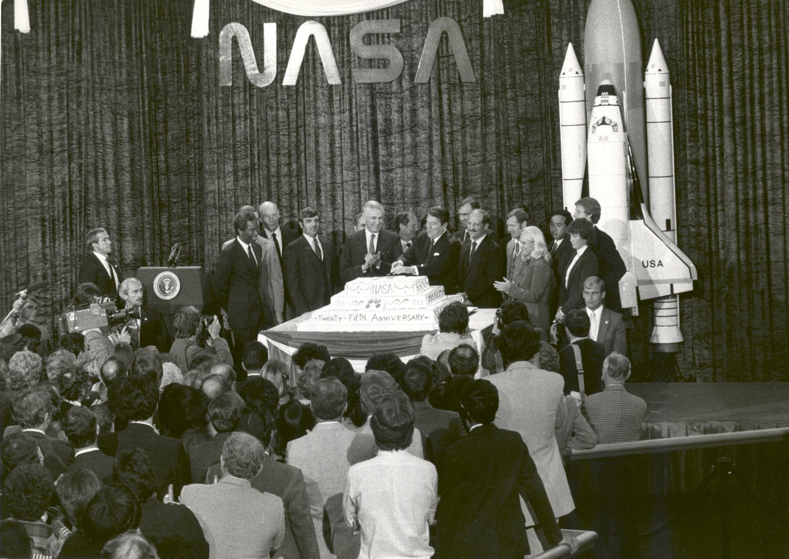 NASA Celebrates its 25th Anniversary