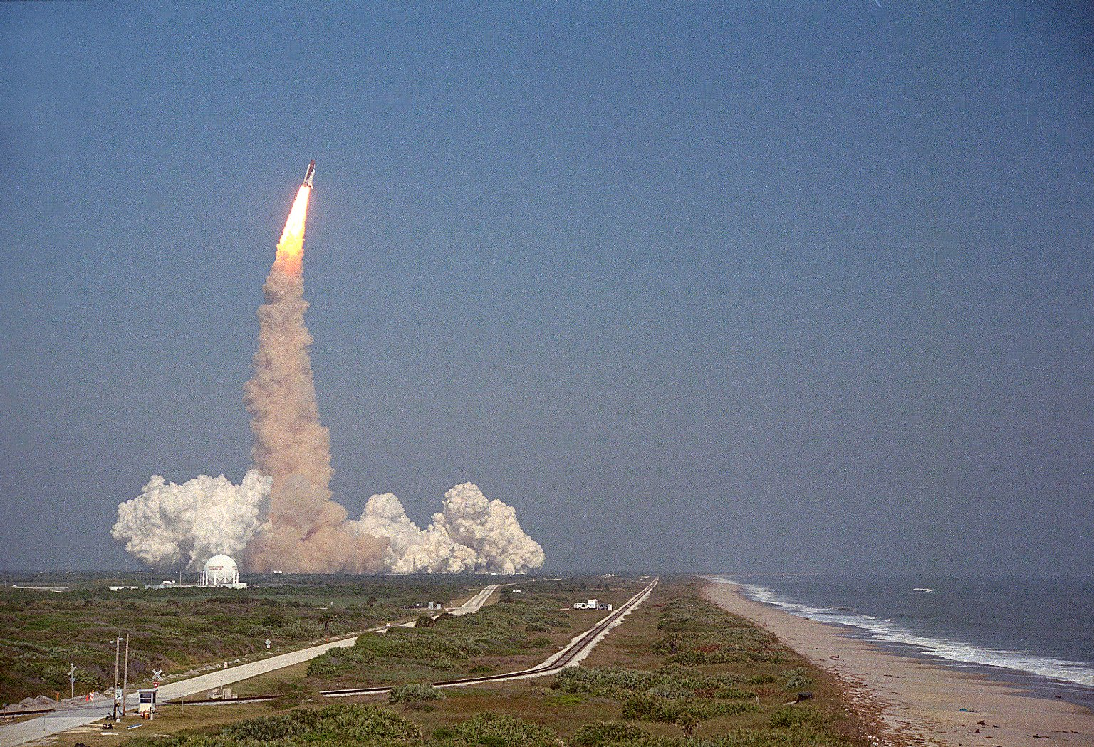 Launch STS-29