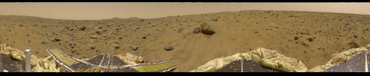 360 Degree Panorama Mars Pathfinder Landing Site