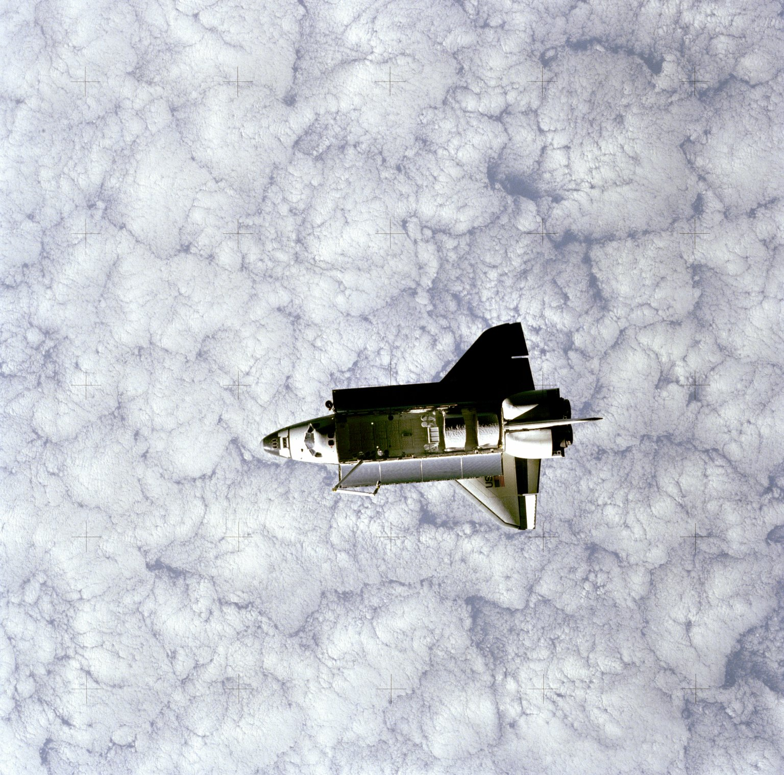 Challenger as seen from SPAS