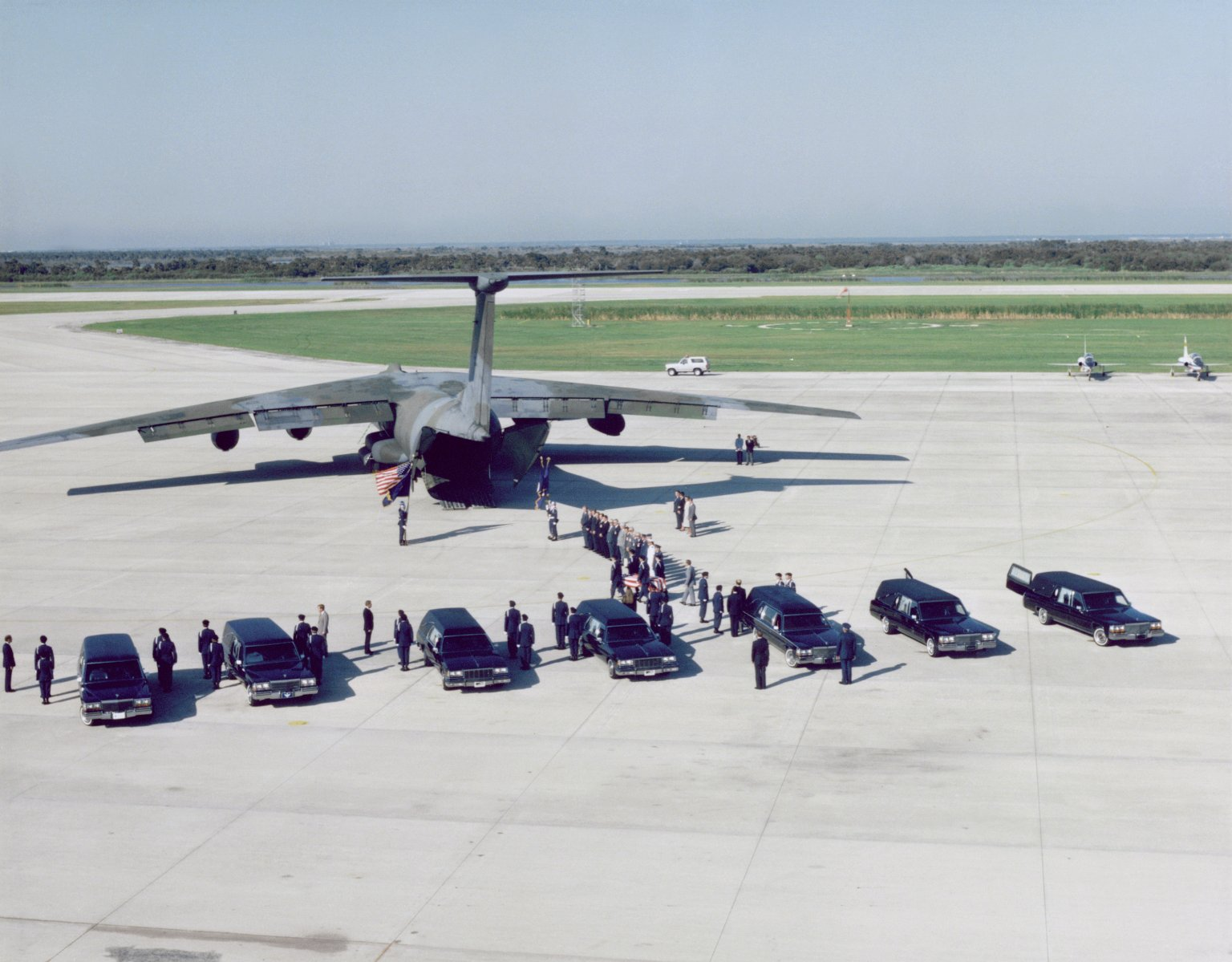51-L Challenger Crew Remains Transferred