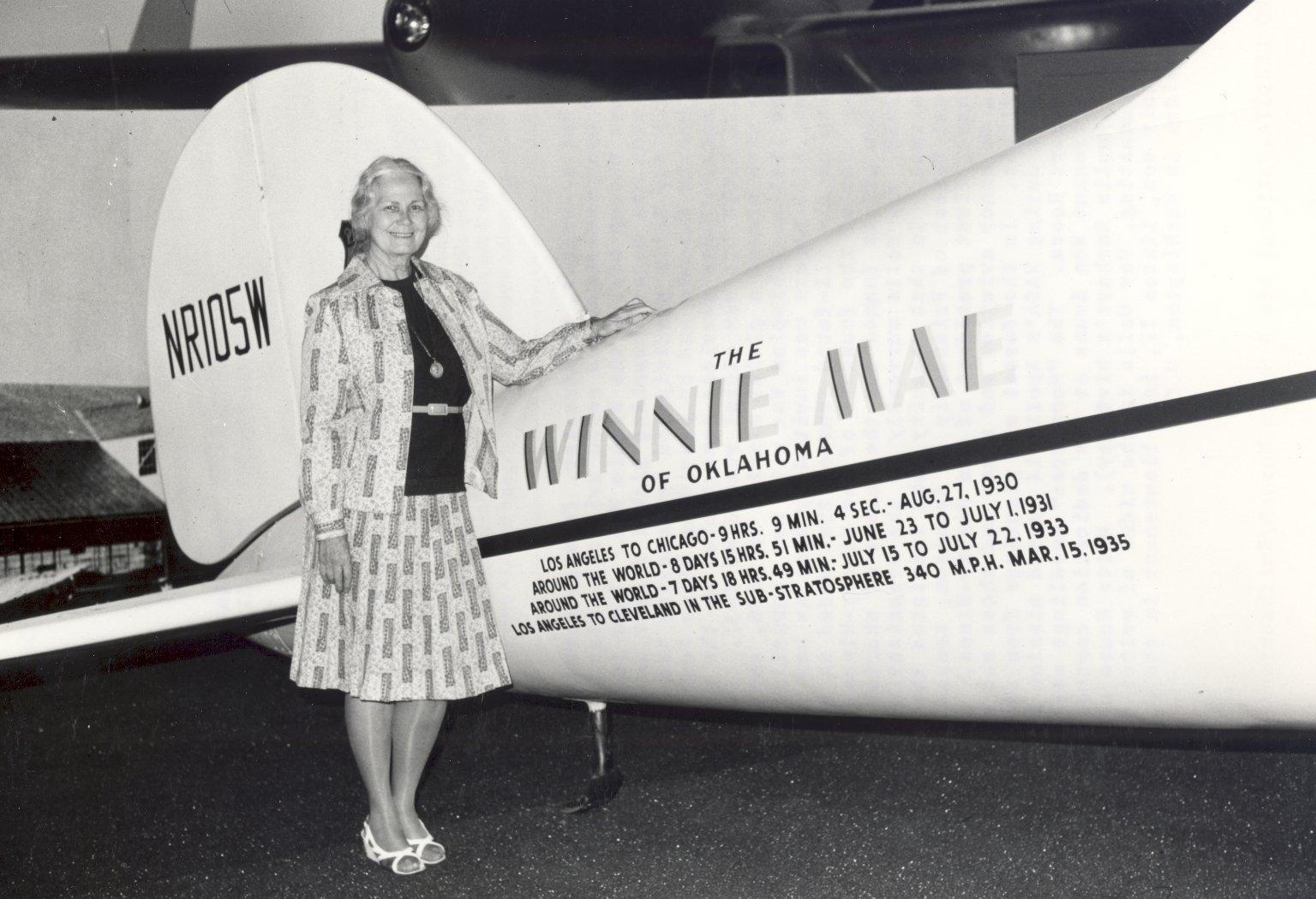Fay Wells with the Winnie Mae