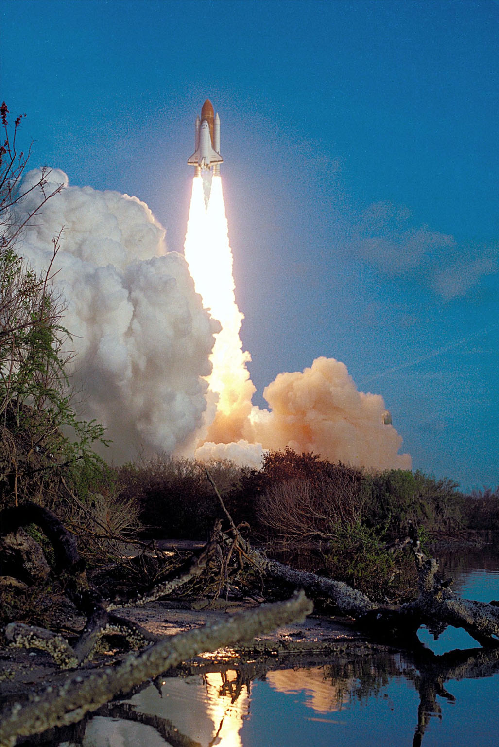 KENNEDY SPACE CENTER, FLA. -- STS-41-B: Challenger