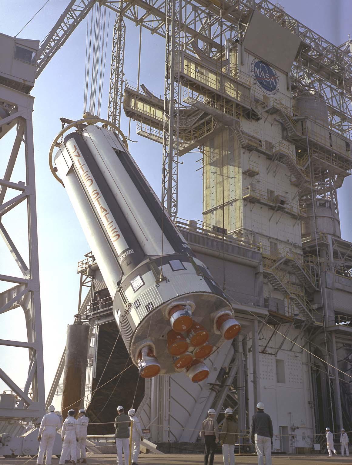 Saturn IB, S-IB-1 at MSFC