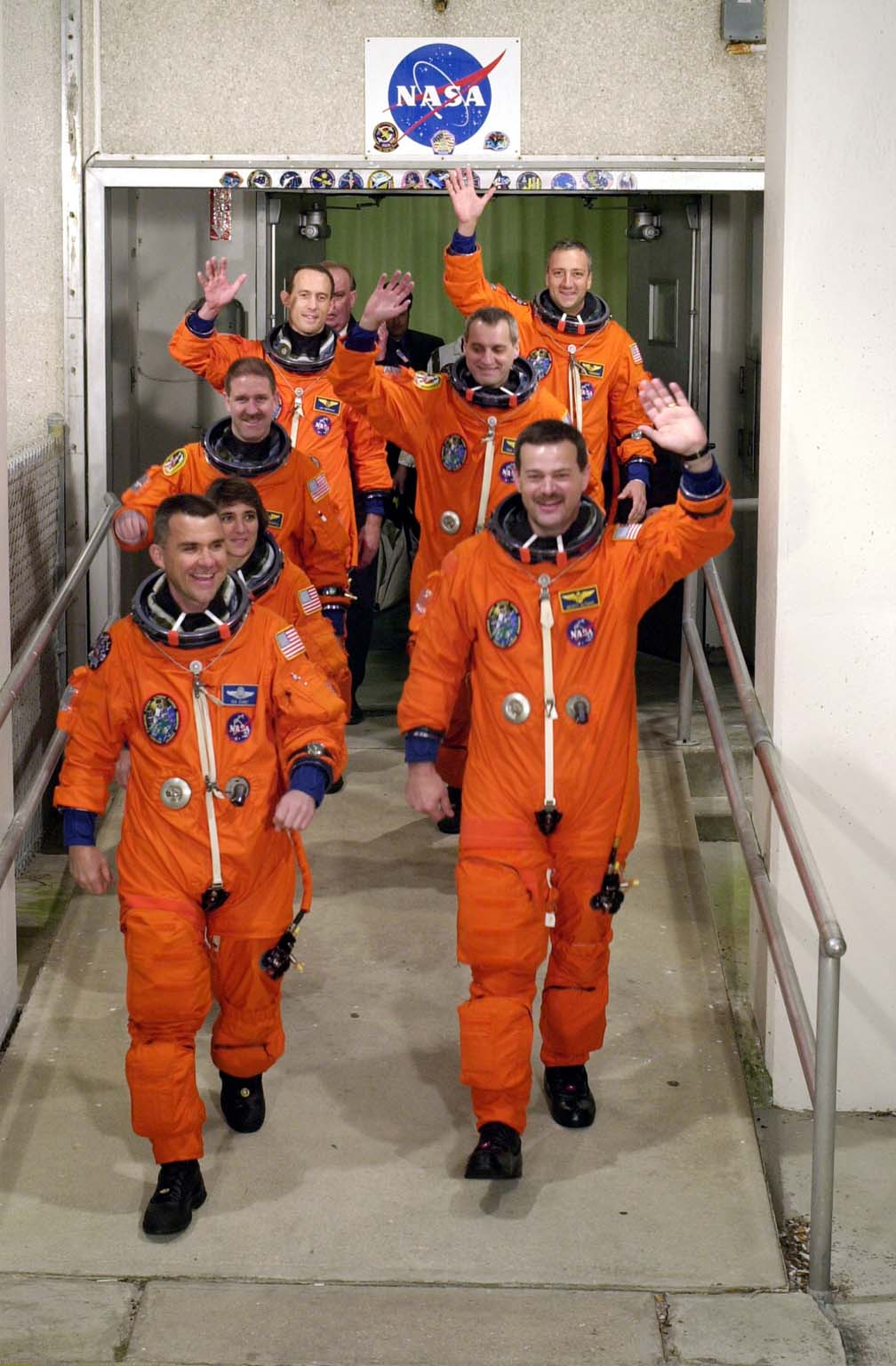 STS-109 Shuttle Mission Crew