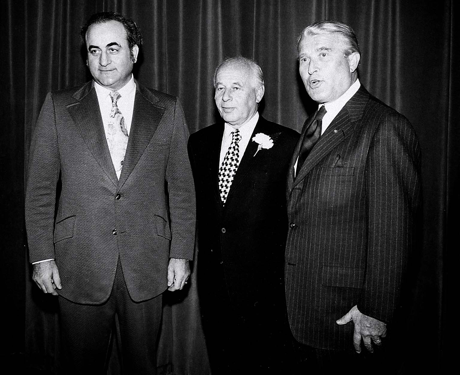 Three MSFC Directors; Dr. Petrone, Dr. Rees, and Dr. von Braun