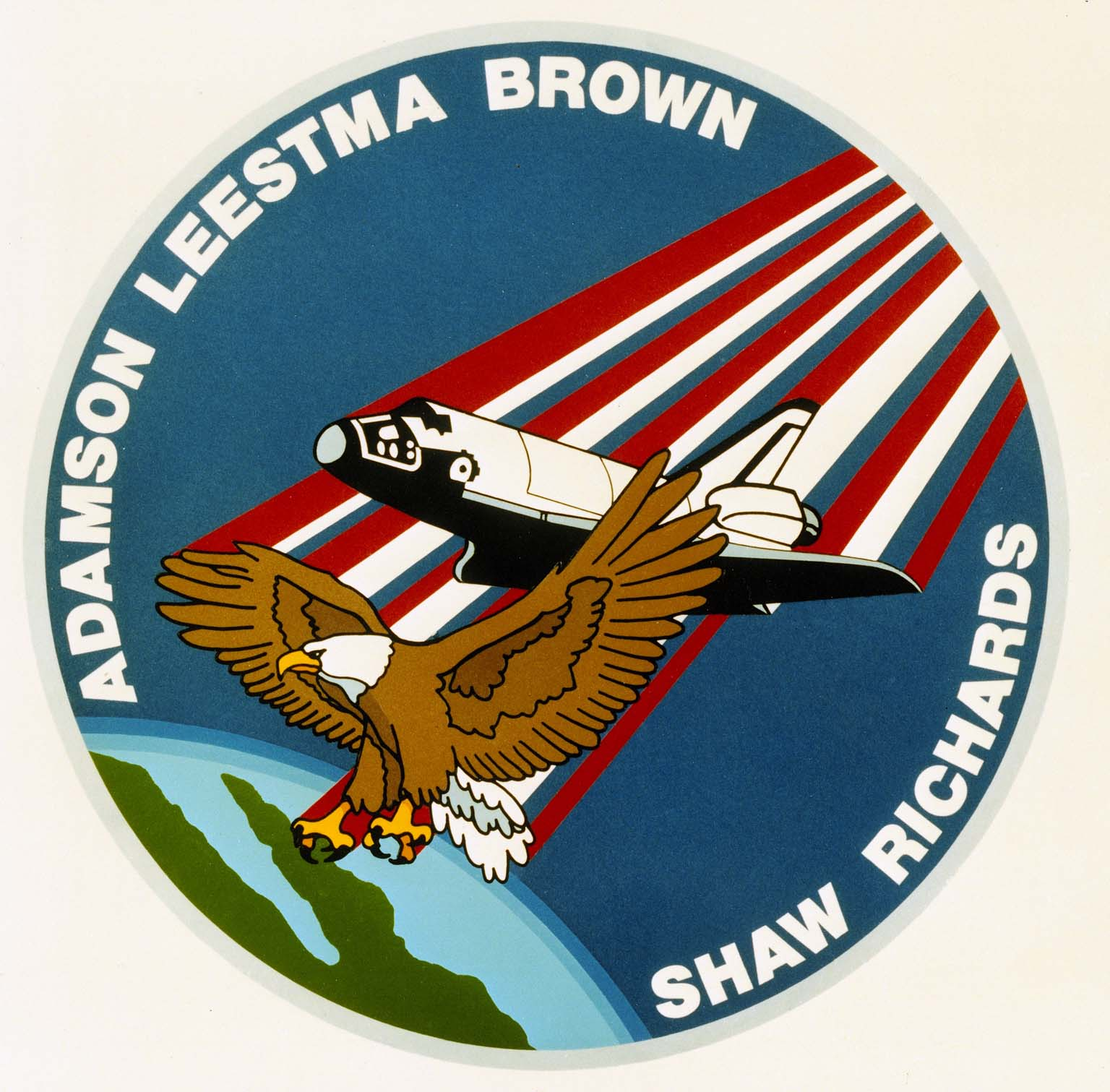 STS-28 Mission Insignia