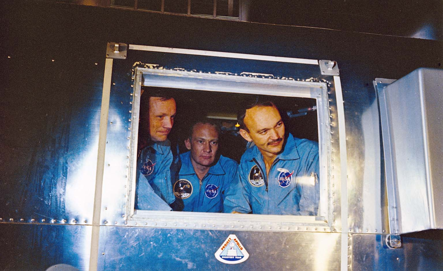Apollo 11 Astronauts In Quarantine Facility