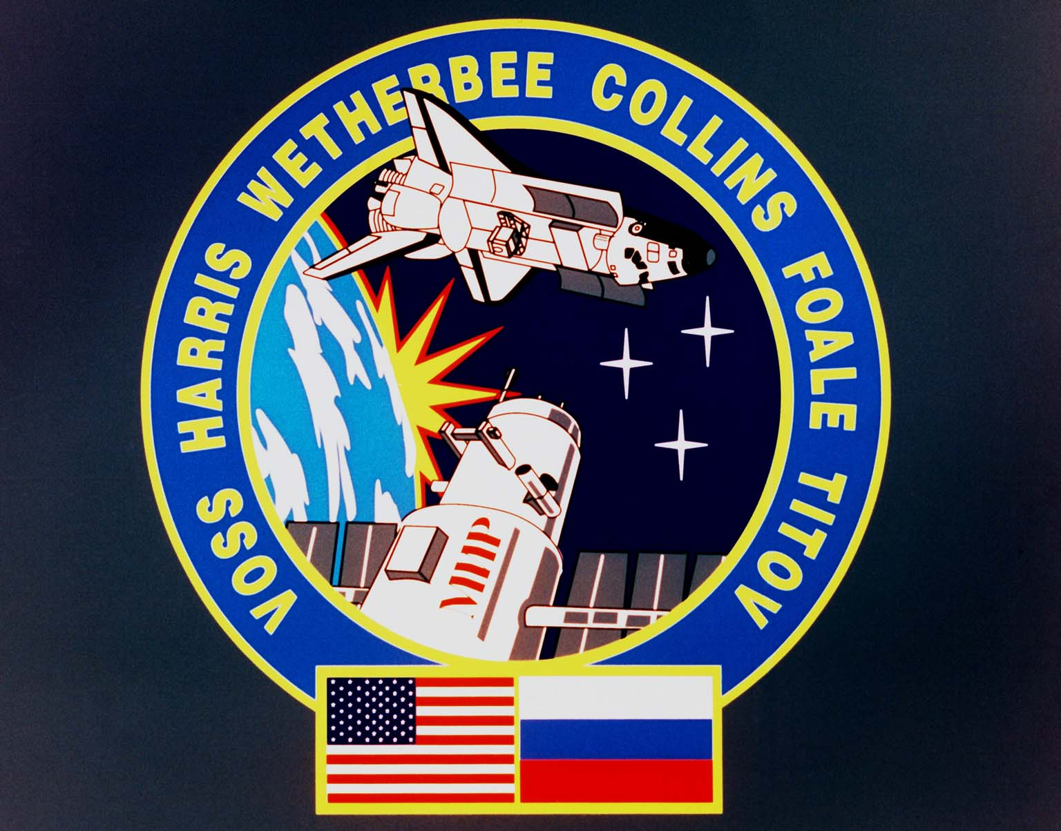 STS-63 Mission Insignia